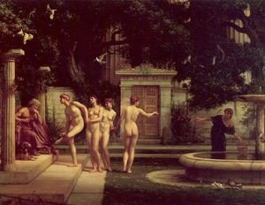 Famous paintings of Fountains: A Visit to Aesculipius 1880