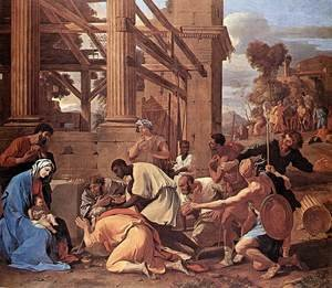 Reproduction oil paintings - Nicolas Poussin - Adoration of the Magi 1633