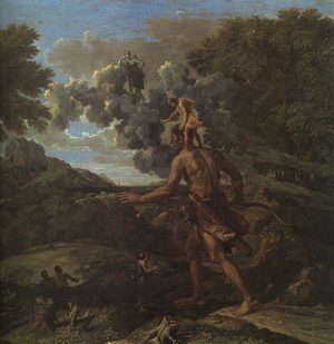 Reproduction oil paintings - Nicolas Poussin - Blind Orion Searching for the Rising Sun 1658