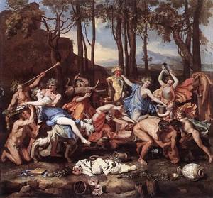 Reproduction oil paintings - Nicolas Poussin - The Triumph of Pan 1636