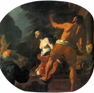 Reproduction oil paintings - Mattia Preti - Beheading of St. Catherine