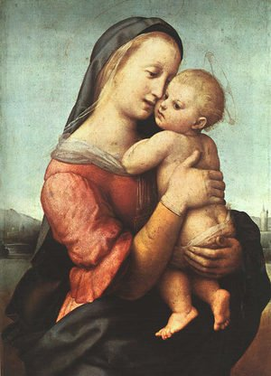 Reproduction oil paintings - Raphael - Tempi Madonna 1507-08