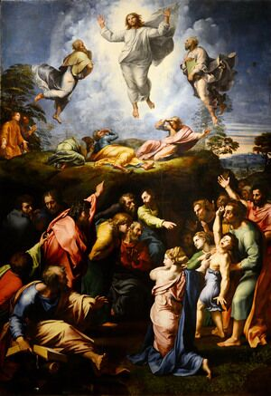Famous paintings of Christianity: The Transfiguration