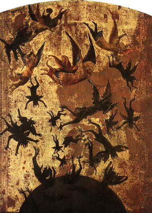 Famous paintings of Devils & Demons: The Fall of the Rebel Angels