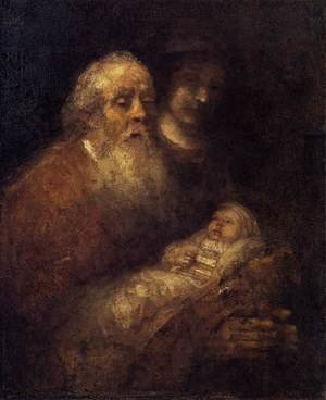 Reproduction oil paintings - Rembrandt - Circumcision 1669