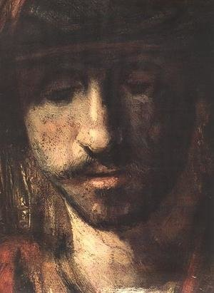 Reproduction oil paintings - Rembrandt - David and Uriah (detail -1) 1665
