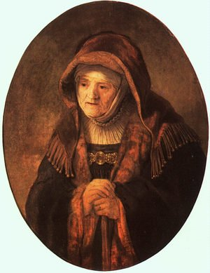 Reproduction oil paintings - Rembrandt - Rembrandt's Mother  1639