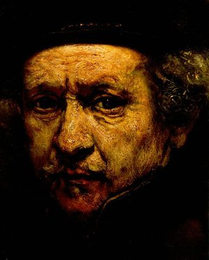 Famous paintings of Men: Self-Portrait (detail) 1659