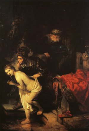 Reproduction oil paintings - Rembrandt - Susanna and the Elders (detail) 1647