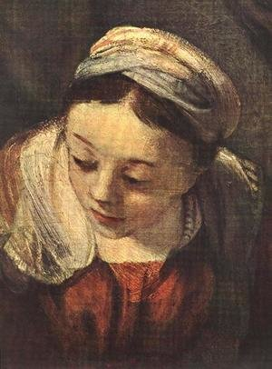 Reproduction oil paintings - Rembrandt - The Holy Family (detail) 1645