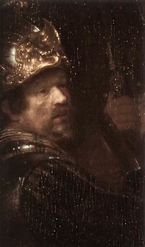 Reproduction oil paintings - Rembrandt - The Nightwatch (detail-3) 1642