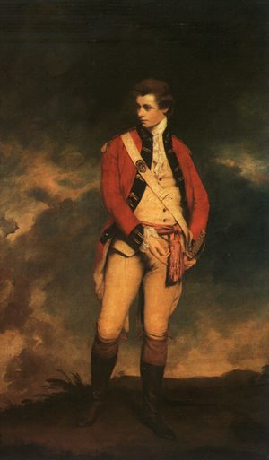 Reproduction oil paintings - Sir Joshua Reynolds - Colonel St. Leger 1778