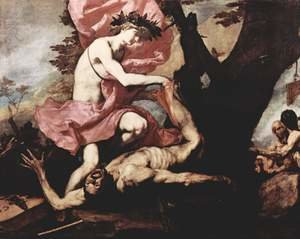 Reproduction oil paintings - Jusepe de Ribera - Apollo Flaying Marsyas 1637