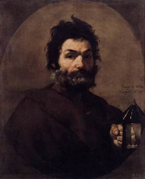 Reproduction oil paintings - Jusepe de Ribera - Diogenes 1637