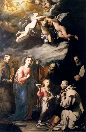Reproduction oil paintings - Jusepe de Ribera - Earthly Trinity 1626