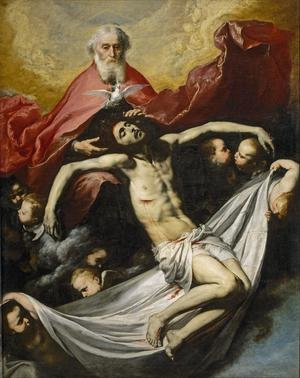 Reproduction oil paintings - Jusepe de Ribera - Holy Trinity 1635-36