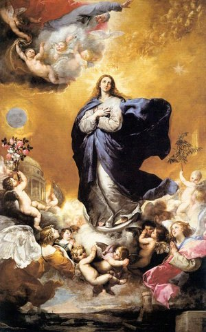 Reproduction oil paintings - Jusepe de Ribera - Immaculate Conception 1635