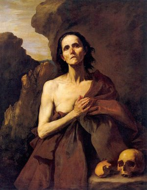 Jusepe de Ribera reproductions - Maria Aegyptiaca (St. Mary of Egypt) 1641