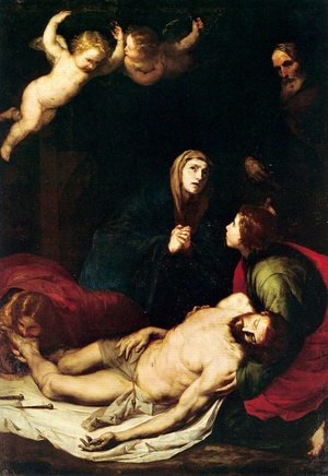 Reproduction oil paintings - Jusepe de Ribera - Pieta 1637