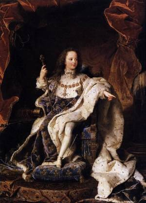 State Portrait of Louis XV 1715