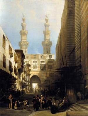 A View in Cairo 1840