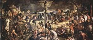 Mannerism painting reproductions: Crucifixion 1565