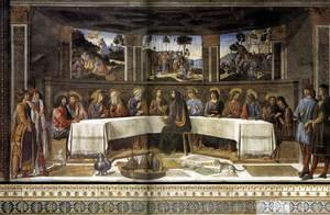 Famous paintings of Domestic Animals: The Last Supper 1481-82