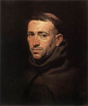 Famous paintings of Men: Head of a Franciscan Friar