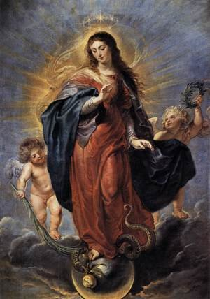Reproduction oil paintings - Rubens - Immaculate Conception c. 1628