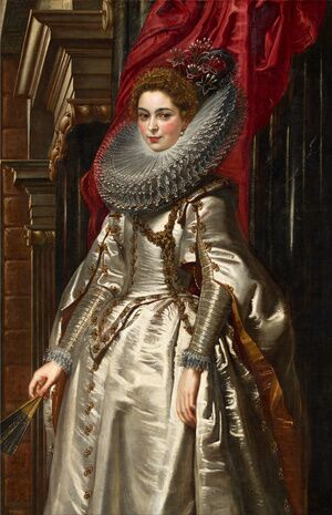 Rubens reproductions - Portrait of Marchesa Brigida Spinola Doria 1606