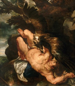 Reproduction oil paintings - Rubens - Prometheus Bound 1610-11