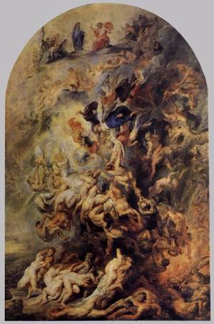 Reproduction oil paintings - Rubens - Small Last Judgement