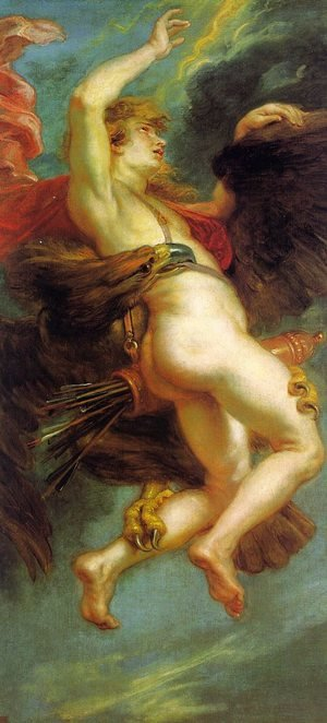Reproduction oil paintings - Rubens - The Abduction of Ganymede