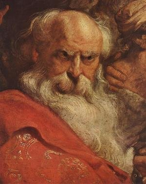 Reproduction oil paintings - Rubens - The Adoration of the Magi (detail-2) 1624