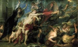 Reproduction oil paintings - Rubens - The Consequences of War 1637-38
