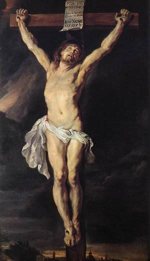 Reproduction oil paintings - Rubens - The Crucified Christ 1610-11