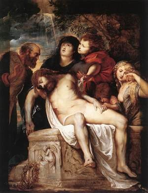 Reproduction oil paintings - Rubens - The Deposition 1602