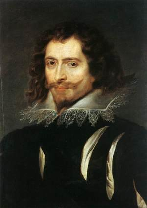 Famous paintings of Men: The Duke of Buckingham c. 1625