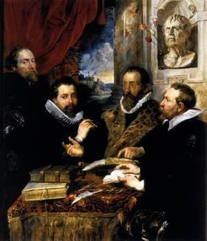 Reproduction oil paintings - Rubens - The Four Philosophers 1611-12
