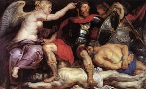 Reproduction oil paintings - Rubens - The Triumph of Victory c. 1614