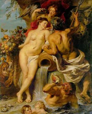 Reproduction oil paintings - Rubens - The Union of Earth and Water c. 1618