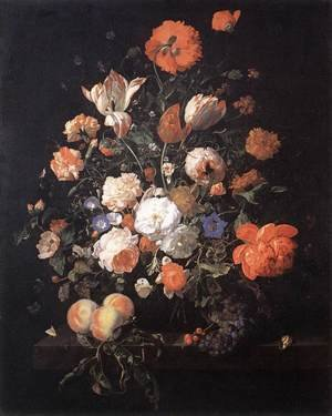 A Vase of Flowers 1706