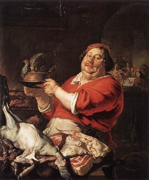 Famous paintings of Meat: February 1642
