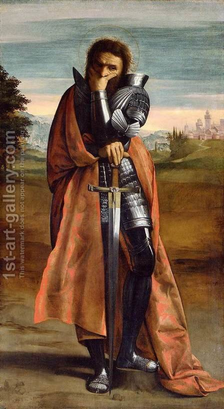 St Demetrius by Ippolito Scarsella (see Scarsellino) - Reproduction Oil Painting