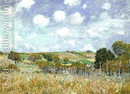 Alfred Sisley: Meadow 1875 - reproduction oil painting