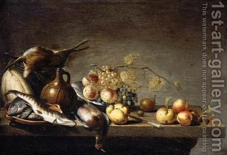 Still-Life (2) 1640 by Harmen Steenwijck - Reproduction Oil Painting