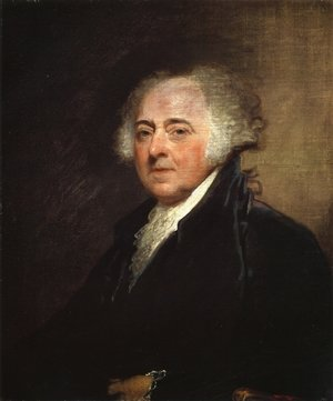 Famous paintings of Portraits: John Adams 1800-15
