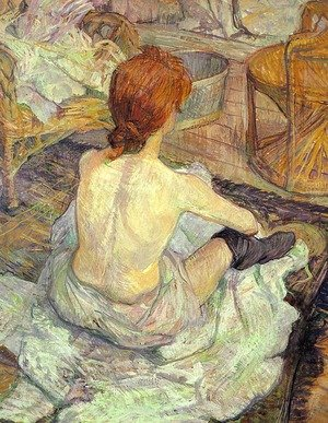 Reproduction oil paintings - Toulouse-Lautrec - La Toilette 1889