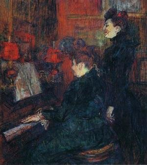 Reproduction oil paintings - Toulouse-Lautrec - Portrait of Comtesse Adele-Zoe de Toulouse-Lautrec (The Artist's Mother) 1883