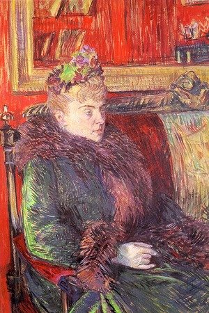 Reproduction oil paintings - Toulouse-Lautrec - Portrait of Madame de Gortzikoff  1893